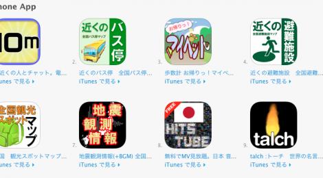 提供アプリ・サービス