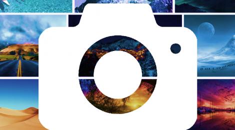 iOSアプリ バーチャル背景カメラ